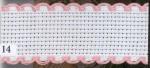 14 ct aidaband 7002 - 14 pink