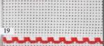 14 ct aidaband 7107 - 19 red